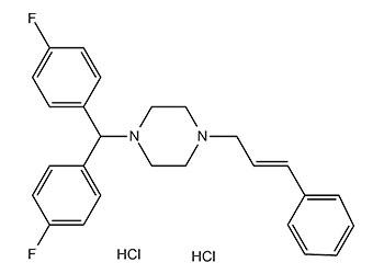 Flunarizine dihydrochloride CAS No.: 30484-77-6